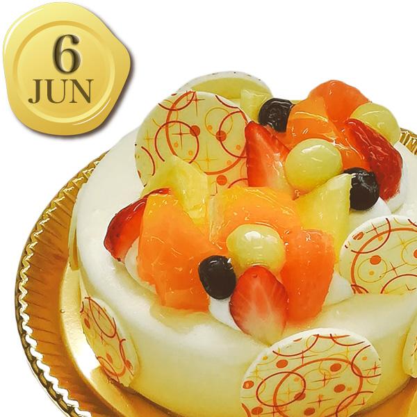 6月のバースデーケーキ
