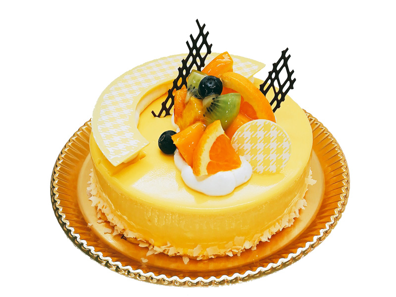 8月のバースデーケーキ