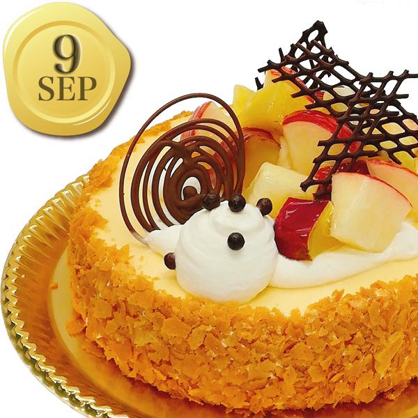 9月のバースデーケーキ