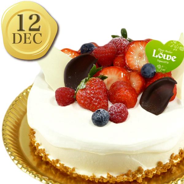 12月のバースデーケーキ