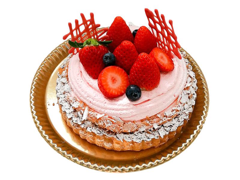1月のバースデーケーキ
