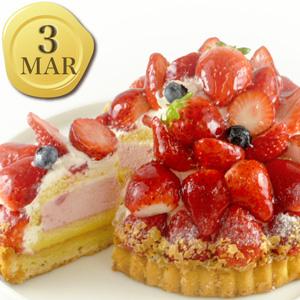 3月のバースデーケーキ