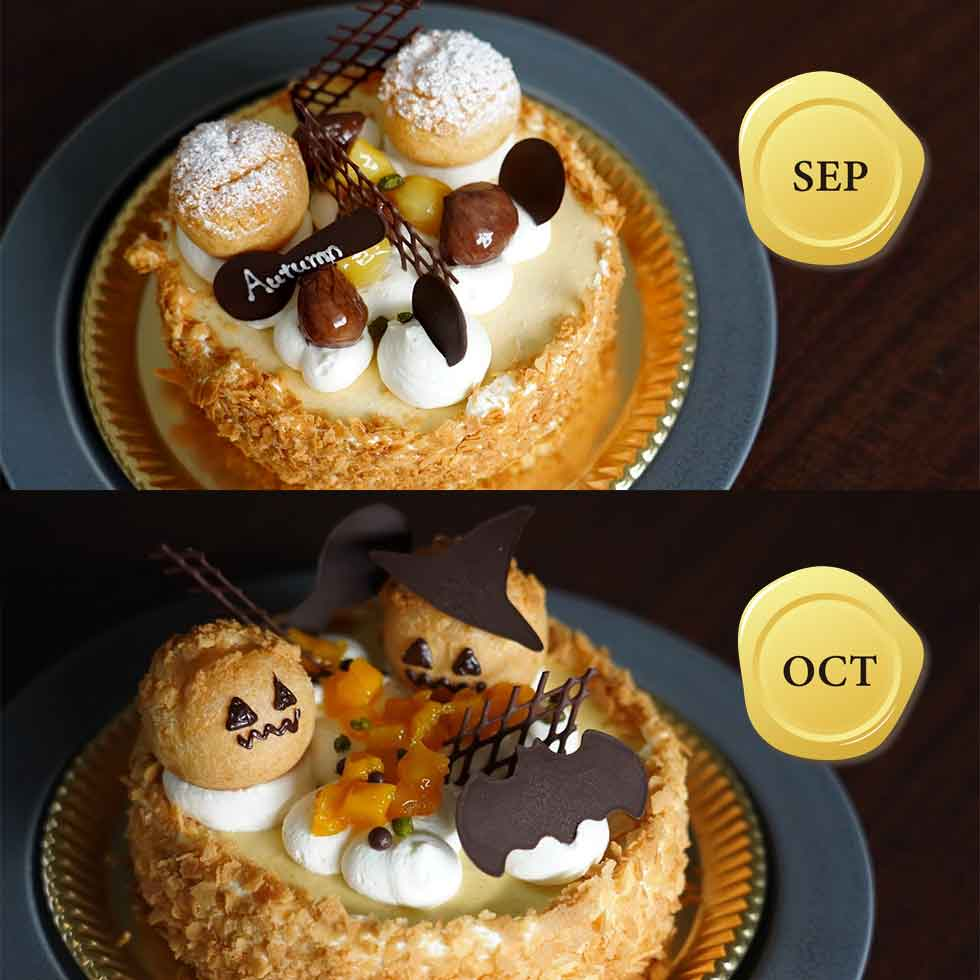 9-10月のバースデーケーキ