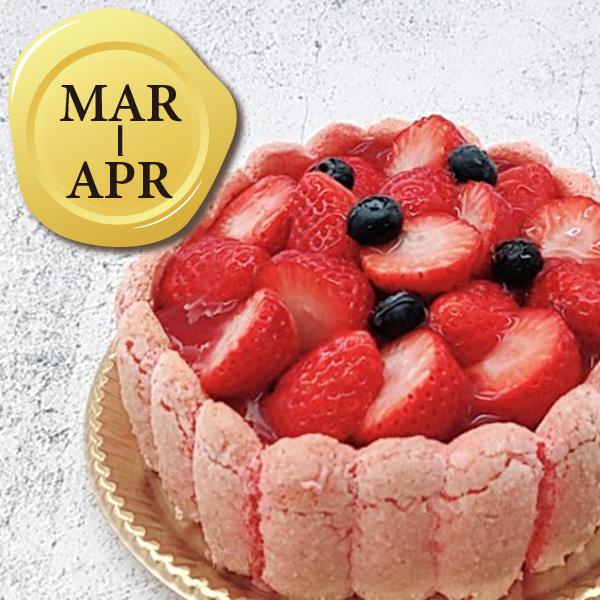 3-4月のバースデーケーキ