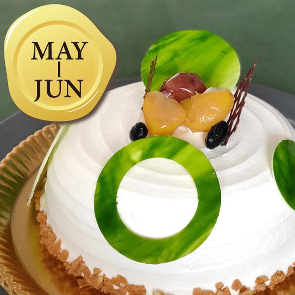 5-6月のバースデーケーキ